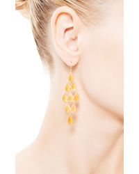 Kothari - Orange Deco Chandelier Earrings - Lyst