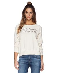 Daydreamer - Natural Champagne Please Sweatshirt - Lyst