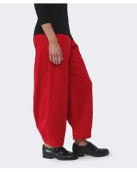Oska | Red Lexi Corduroy Trousers | Lyst
