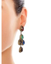 Erickson Beamon | Multicolor Duchess Of Fabulous Earrings | Lyst