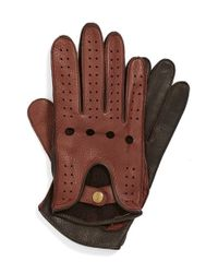 John W. Nordstrom | Brown Leather Driving Gloves for Men | Lyst