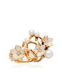 Shaun Leane - Metallic Exclusive Diamond Cherry Blossom Ring - Lyst