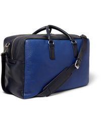 Marc By Marc Jacobs - Blue Leather Holdall Bag for Men - Lyst