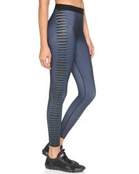 Ultracor | Blue Cobra Print Leggings - Teal | Lyst