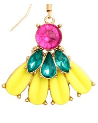 H&M | Yellow Large Earrings | Lyst
