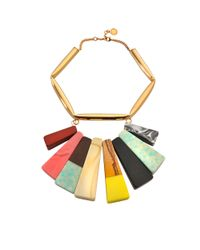 Stella McCartney - Multicolor Stones Necklace - Lyst