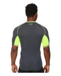 Under Armour | Gray Ua Heatgear® Armour Exo S/s Compression Shirt for Men | Lyst