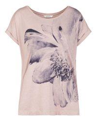 Sandwich | Gray Flower Print Jersey T-shirt | Lyst