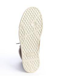 Giuseppe Zanotti - Green Suede Faux Fur Lined Side Zip Sneakers for Men - Lyst