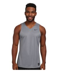 Nike | Gray Elite Basketball Tank for Men | Lyst