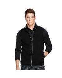 Pink Pony - Black Rib-knit Merino-blend Vest for Men - Lyst