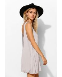 Project Social T | Gray Bubble Tunic Tank Top | Lyst