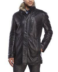 Marc New York - Black Stuyvesant Leather Jacket for Men - Lyst