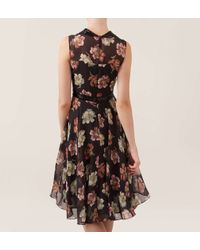 Hobbs | Black Beaded Verdure Dress | Lyst