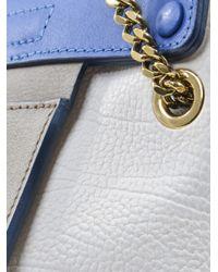 Chloé - Blue Clare Chain Strap Shoulder Bag - Lyst