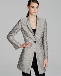 Lafayette 148 New York | Gray Blaine Tweed Jacket | Lyst