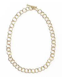 Ippolita | Metallic 18k Glamazon Round Link Necklace | Lyst