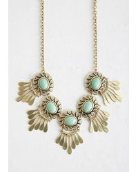 Ana Accessories Inc | Green Refined And Radiant Necklace | Lyst