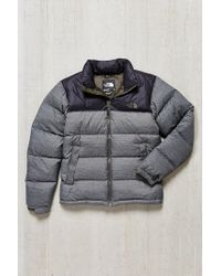 Lyst - The North Face Nuptse Jacket in Gray for Men c2792a6ec