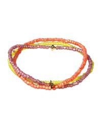 Luis Morais | Orange Bracelet | Lyst