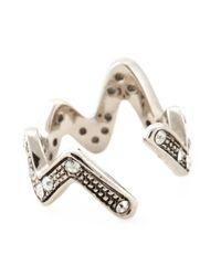 Ca&Lou | Metallic 'anne Contrarie' Ring | Lyst