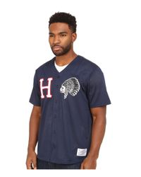 Huf | Blue Chief Baseball Jersey for Men | Lyst