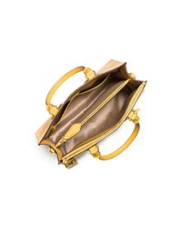 Michael Kors - Yellow Casey Large Leather Satchel - Lyst