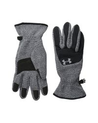 Under Armour | Gray Ua Survivor Fleece Glove (youth) | Lyst