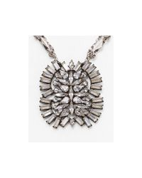 DANNIJO | Metallic Lila Pendant Necklace, 18"