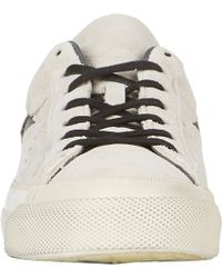 Converse - White Suede Star Ox Sneakers for Men - Lyst