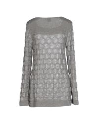 M Missoni - Gray Jumper - Lyst