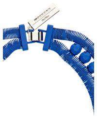 Weekend by Maxmara - Blue Bric Necklace - Lyst