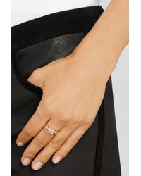 Repossi - Metallic 18-Karat Rose Gold Ring - Lyst