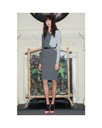 Roland Mouret - Black Nassau Printed Dress - Lyst