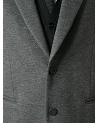 Emporio Armani | Gray Classic Blazer for Men | Lyst