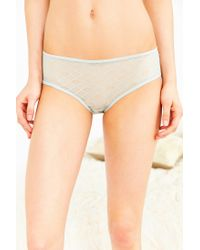 Urban Outfitters - Green Christy Lace Keyhole Hipster - Lyst
