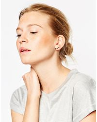 ASOS | Metallic Lightning Bolt Ear Climber | Lyst