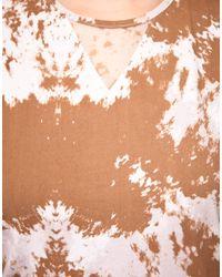 Antipodium - Brown Halftime Dress with Silk Trim - Lyst