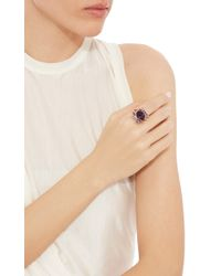 Tomasz Donocik | Purple Electric Night Cocktail Ring | Lyst
