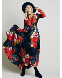 Free People | Multicolor First Kiss Dress | Lyst