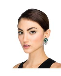 Lulu Frost - Green Vaulted Stud - Lyst