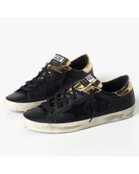 James Perse - Black Golden Goose Superstar Sneaker - Mens for Men - Lyst