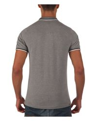 Bench | Gray Competitor B Plain Polo Regular Fit Polo Shirt for Men | Lyst