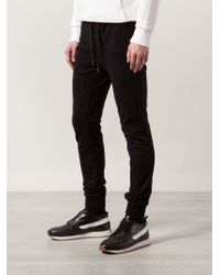 Zanerobe - Black Track Trousers for Men - Lyst