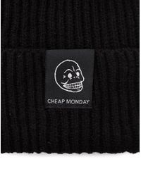 Cheap Monday - Black Beanie for Men - Lyst