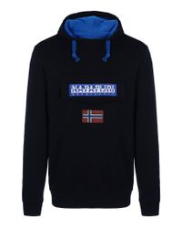 Napapijri | Blue Sweatshirt for Men | Lyst