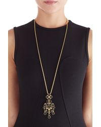 Kenneth Jay Lane - Metallic Gold-plated Statement Necklace - Gold - Lyst