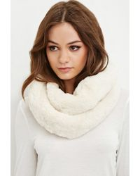 Forever 21 | Natural Faux Fur Snood You've Been Added To The Waitlist | Lyst