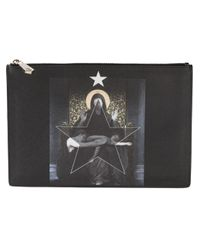 Givenchy | Black - Micro Cross Clutch - Women - Calf Leather - One Size | Lyst