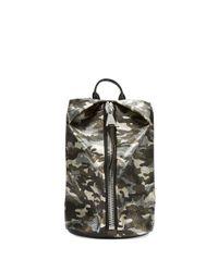 Aimee Kestenberg   Green Tamitha Leather Backpack   Lyst